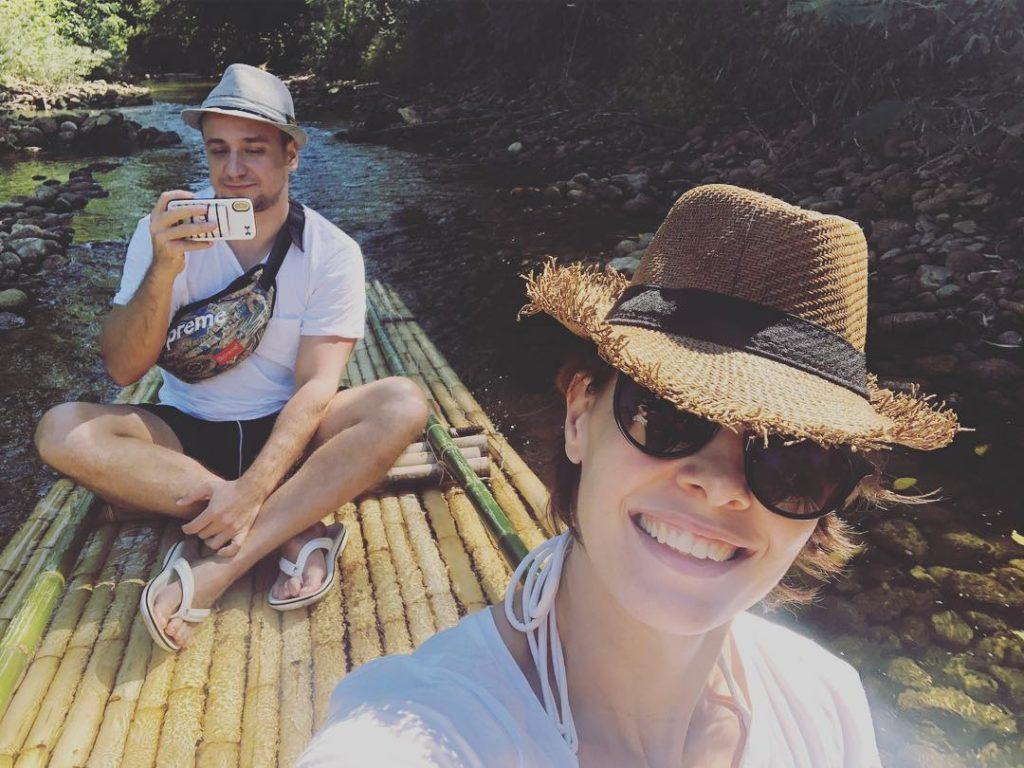 Мария Валешная и Кирилл Жандаров в Тайланде, 2019